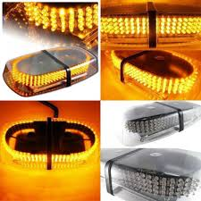 snow plow strobe lights led amber warning emergency vehicle truck snow plow safety top
