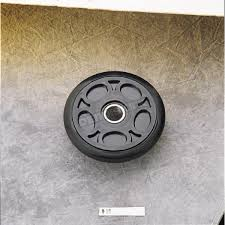 parts unlimited black idler wheel w bearing 0411 696p snowmobile