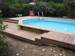 amenagement autour piscine hors sol amnagement piscine hors sol stunning with amnagement piscine hors