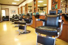 interior barber shop design layout hair salon decorating ideas