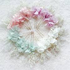 flower hair pins 3pc preserved fresh flower hair pins hair clip flowers hair