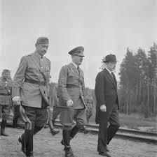 Seeking Adolf Adolf Visits C G Mannerheim Who Is Celebrating His