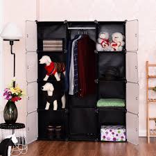 Wardrobe Closet Organizer by 12 Cubes Portable Closet Storage Organizer Clothes Wardrobe