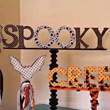 Ameroonie Designs Halloween Mantel And Word Art