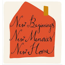 new home caroline gardner new beginnings new home cards from postmark