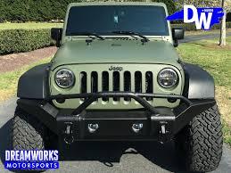 jeep wrangler army green denzel rice jeep wrangler unlimited u2014 dreamworks motorsports