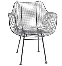 Black And White Armchairs Modern Wire Chair Rejuvenation