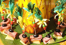 Tropical Theme Wedding - celebrate your engagement with a tropical island cocktail party
