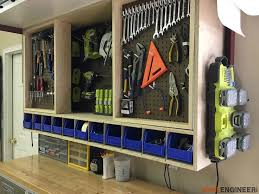 Wooden Garage Storage Cabinets Plans by Tool Storage Wall Cabinet Easy Diy Projects Store And Walls
