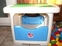 duplo table with storage duplo table step 2 table with building bricks all authentic brand
