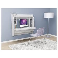 Designer Floating Desk Floating Desk With Storage White Prepac Target