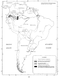 Map Of The Problematique Management Of Latin American River Basins Amazon Plata And São