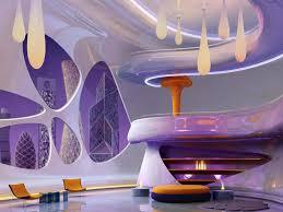 futuristic home interior outstanding purple futuristic living room bright future