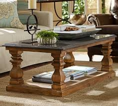 decorating like pottery barn sutton coffee table pottery barn