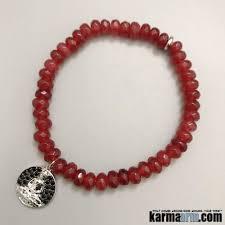 ruby gifts charm bracelets ruby pave buddha charm beaded mala