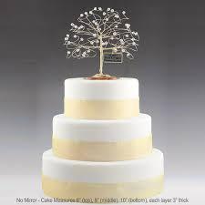 silver anniversary ideas personalized wedding anniversary cake topper tree gift idea custom