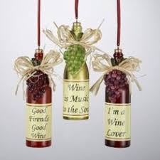 item 105991 4 5 resin white wine ornament fot