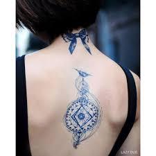 lazy duo boho spiritual compass horoscope zodiac temporary tattoo art