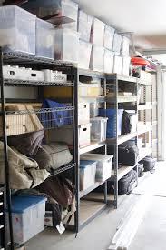 simply done custom wall of garage shelving simply organized
