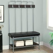 Entryway Storage Bench With Coat Rack Coat Rack With Storage The Door Coat Rack Mini Tree