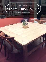 free farmhouse table plans dining table free dining table plans pdf construction designs