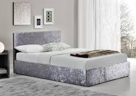 Birlea Ottoman Birlea Berlin Crushed Velvet Ottoman Bed Idealsdirect