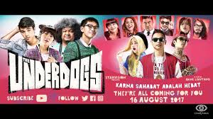 underdogs the film the underdogs trailer reaction chio indonesia youtube