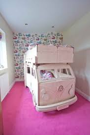 custom made vw bus bunk bed beds are twin mattresses the bed is