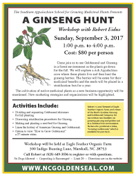 native medicinal plants a ginseng hunt with robert eidus madison county chamber of commerce
