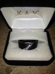 sti wedding ring mens black diamond ring ebay