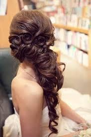 Hochsteckfrisurenen Lange Haare Halb Offen by Schicke Brautfrisur Lange Haare Dunkel Natürliche Frisur