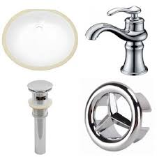 oval undermount bathroom sink ceramic oval undermount bathroom sink with faucet and overflow by