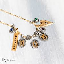 customizable necklace remind your how special she is with this great customizable