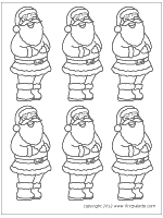 coloring pages to print of santa santa claus printable templates coloring pages firstpalette com