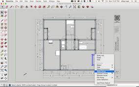 sketchup floor plan sketchup house plans free download google design sle tiny draw