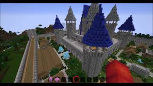 Mincraft Maps Minecraft 1 8 Spawn Map Castle Youtube