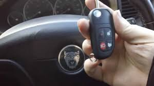 how to pair jaguar x type key remote after new battery youtube