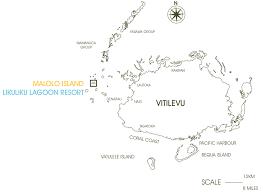 Map Of Fiji Maps Likuliku Lagoon Resort Fiji