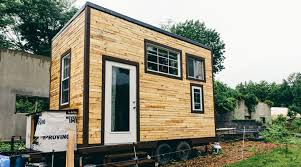 tiny house build scaling down one couple builds a tiny house tinyhouse