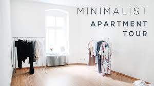 minimalistic apartment minimalist apartment tour youtube