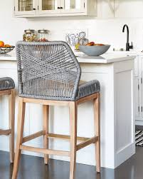 Kitchen Island Chairs Or Stools Navy Wood And Grey Kitchen Designed By Grant K Gibson At
