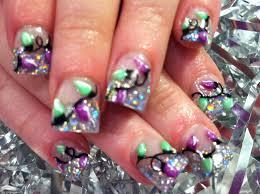 Christmas Light Nails nail art november 2011 christmas nails pinterest nail art