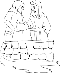 coloring page abraham and sarah abraham and sarah coloring page free printable coloring pages