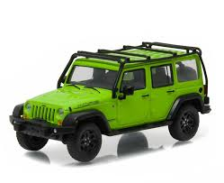 green jeep wrangler unlimited 1 43 greenlight collectibles 2013 jeep wrangler unlimited moab