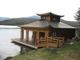 inspired by the graceful and swooping japanese temple roofs this