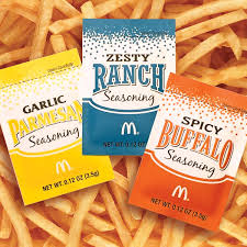 mcdonalds french fry seasoning packaging design on behance
