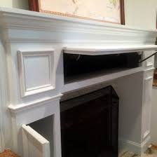 Fireplace Refacing Kits by 20 Sneaky Storage Ideas Secret Storage Fireplace Mantel And Mantels