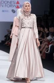 gaun muslim koleksi gambar baju muslim terbaru untuk pesta modern model baju