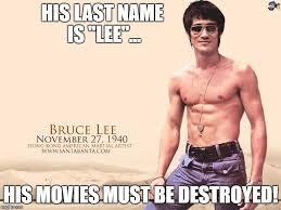 Bruce Lee Meme - bruce lee last name imgflip