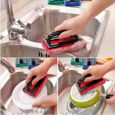 aliexpress com buy kitchen cleaning brush with hand shank design